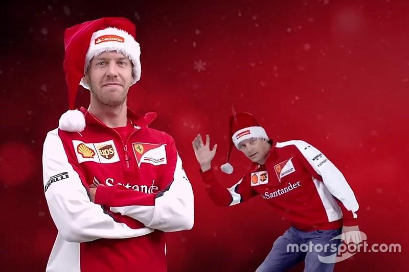 La Fórmula 1 les desea Feliz Navidad