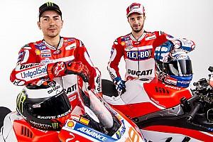 MotoGP Важливі новини Відео наживо: презентація команди Ducati MotoGP 2018