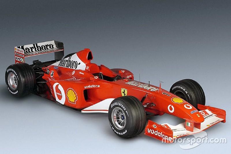 Le mitiche Ferrari di F.1: la F2002 iridata già al GP di Francia con Schumacher