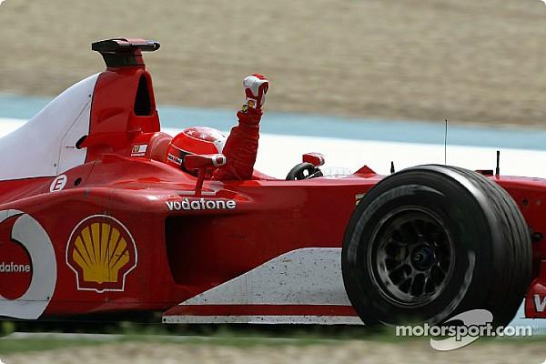 Forma-1 Elemzés Ferrarik a Forma-1-ben: a rekordot rekordra halmozó F2002-es