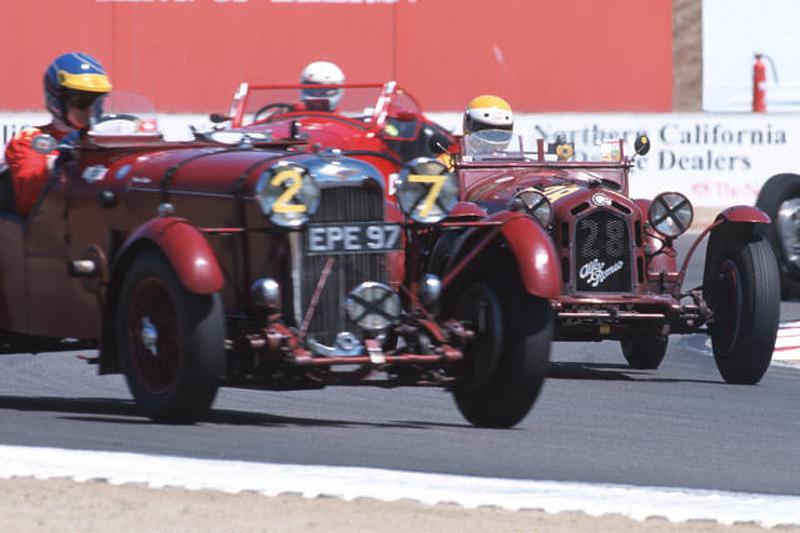 1935 Lagonda & 1932 Alfa-Romeo