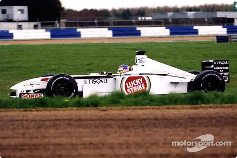 Jacques Villeneuve à Luffield