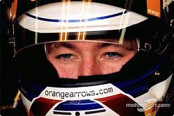 Jors Verstappen dans le garage