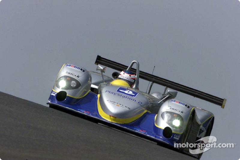 Yannick Dalmas in the Chrysler LMP