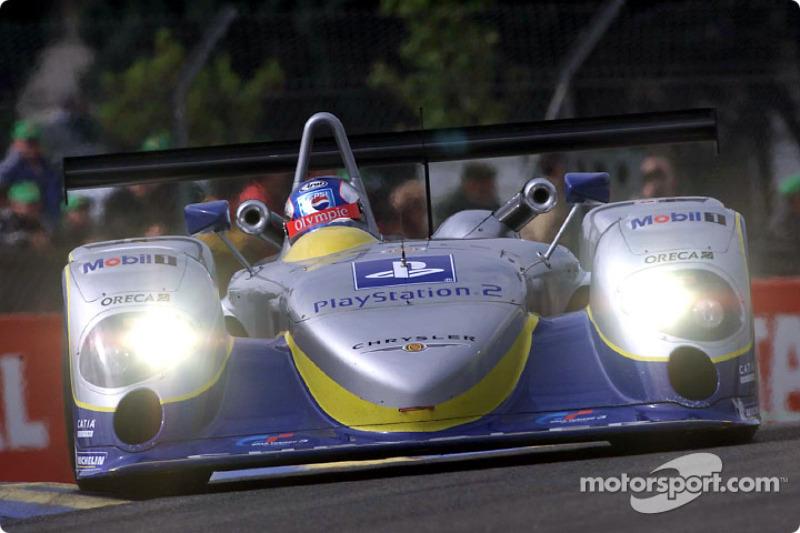 Masahiko Kondo en el Chrysler LMP