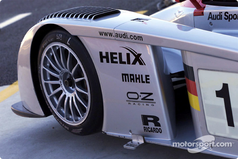 A detail of the Infineon Audi R8 #1