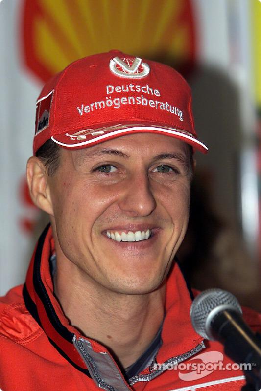 Shell press conference: Michael Schumacher