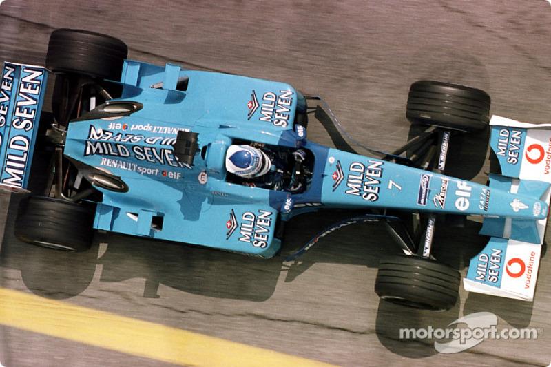 Giancarlo Fisichella en el GP de San Marino
