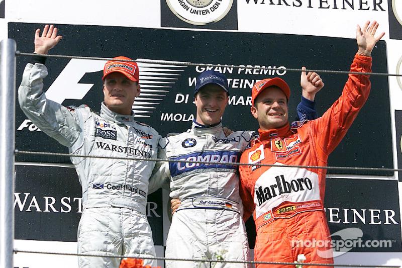 2001. Сан-Маріно. Ральф Шумахер, Williams FW23