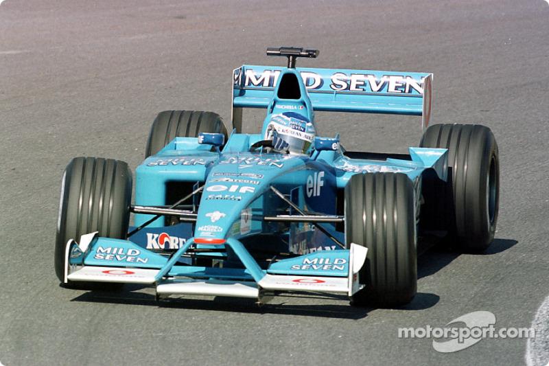 Giancarlo Fisichella au GP du Brésil