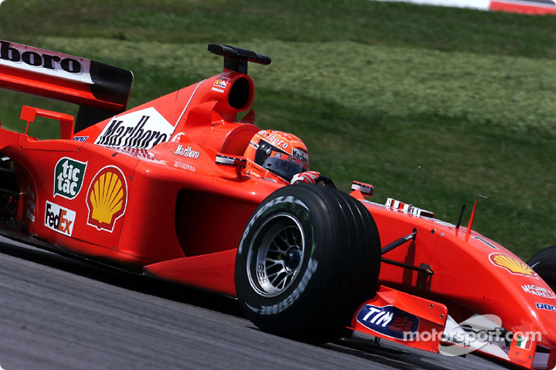 2001 Malaysian GP, Ferrari F2001