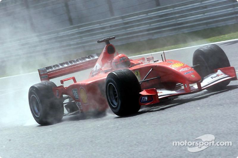 2001 : Michael Schumacher, Ferrari F2001