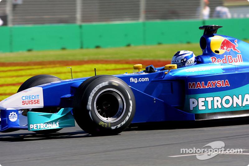 Kimi Räikkönen: Grand Prix von Australien 2001