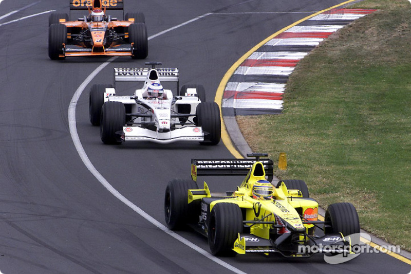 Trulli, Panis and Verstappen