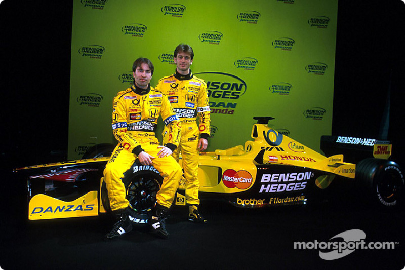 Heinz-Harald Frentzen and Jarno Trulli