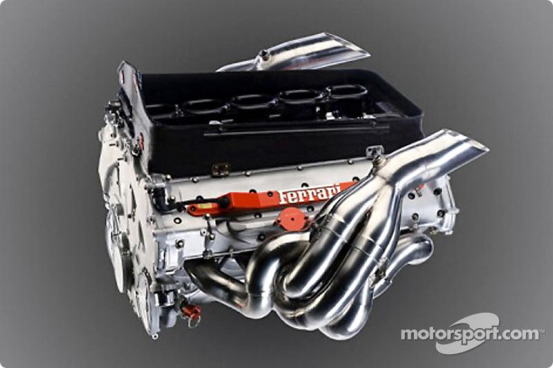 El totalmente nuevo motor del Ferrari 050 V10