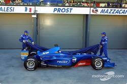 Jean et Gaston dévoilent la Prost Acer AP04