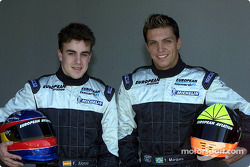Fernando Alonso e Tarso Marques