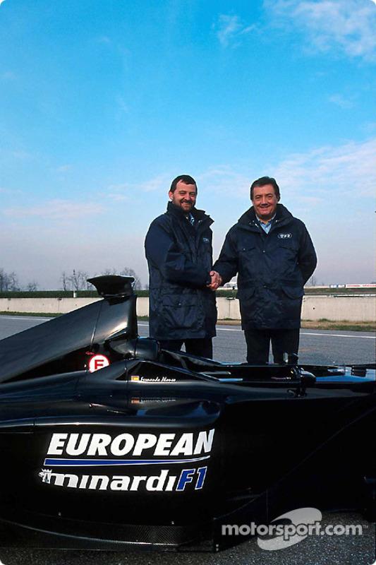 Paul Stoddart and Gian Carlo Minardi