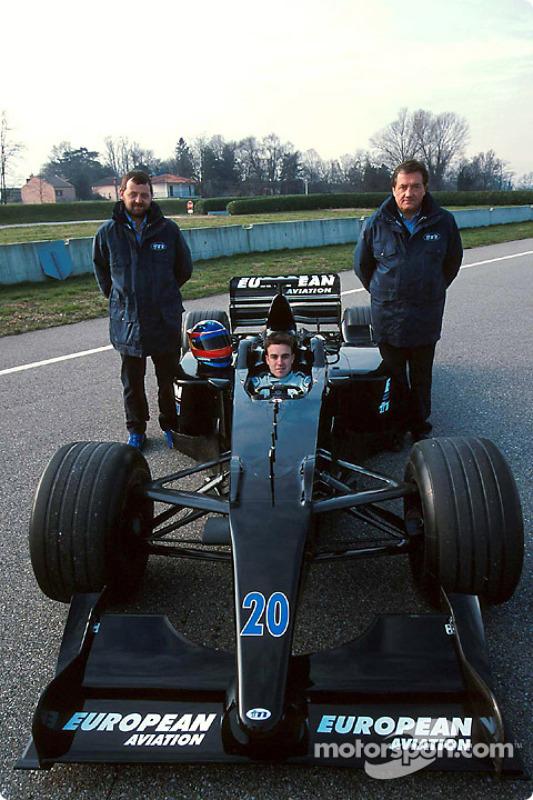 Paul Stoddart, Fernando Alonso und Gian Carlo Minardi