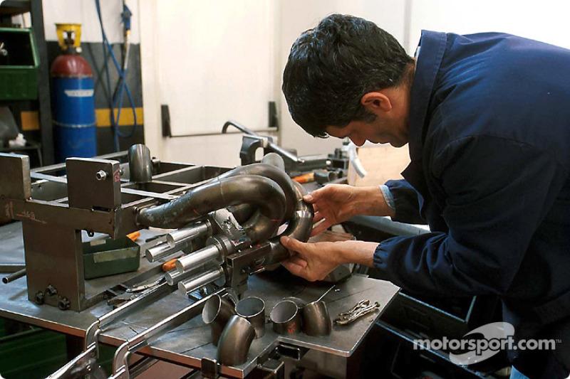 Minardi factory in Faenza