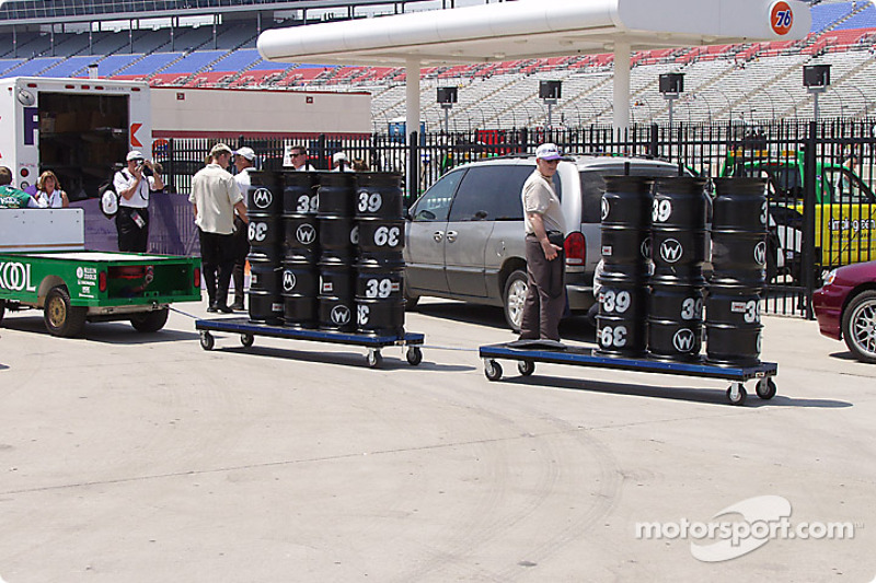 Firestone packing up