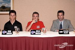 Bruno Junqueira, Nicola Minassian, Craig Rust