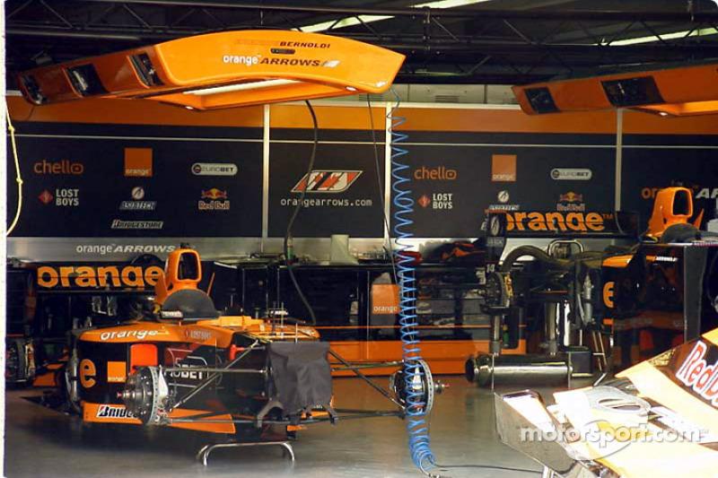 The Arrows garage