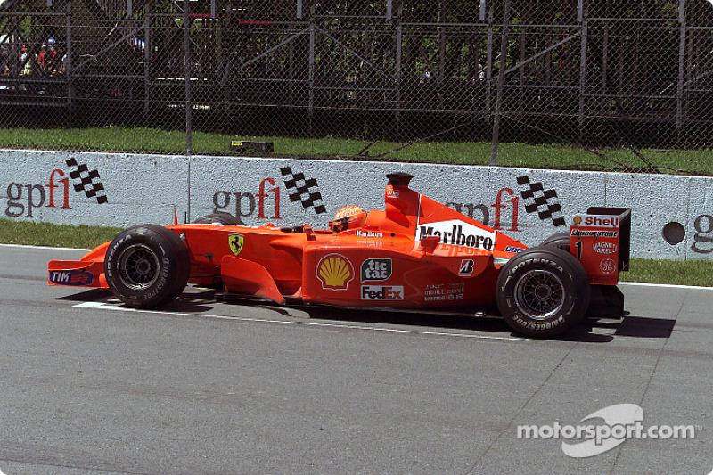 Start simulation for Michael Schumacher