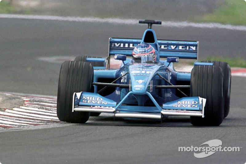Jenson Button au GP d'Europe