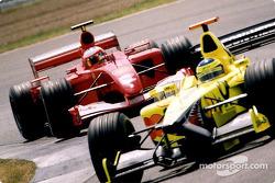 Rubens Barrichello ve RiCardo Zonta