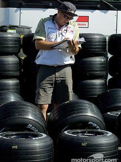 Tire preparation, BAR