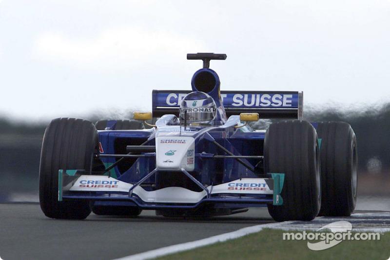 Sauber C20, à moteur Petronas (2001)