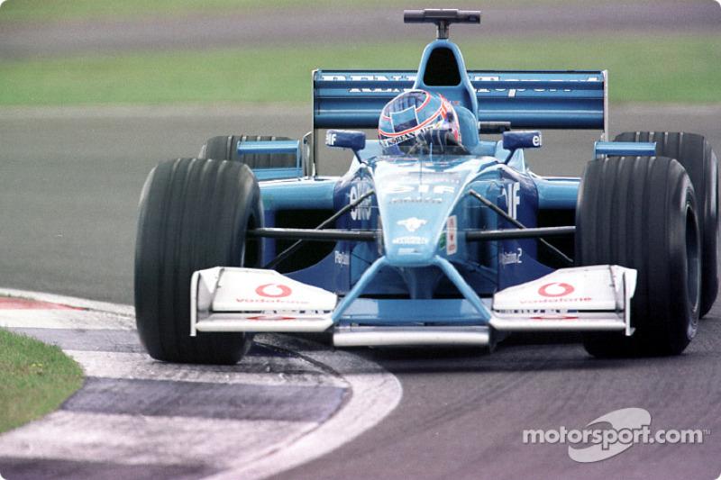 Jenson Button au GP de Grande-Bretagne