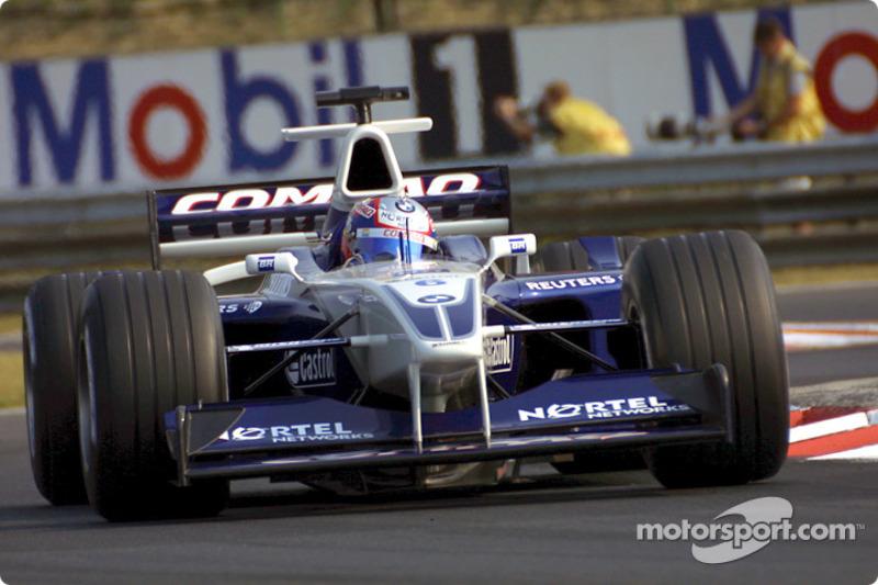 Лучший новичок 2001 года: Хуан-Пабло Монтойя