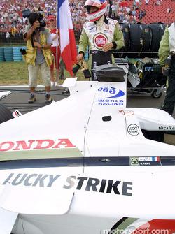 Olivier Panis on the grid