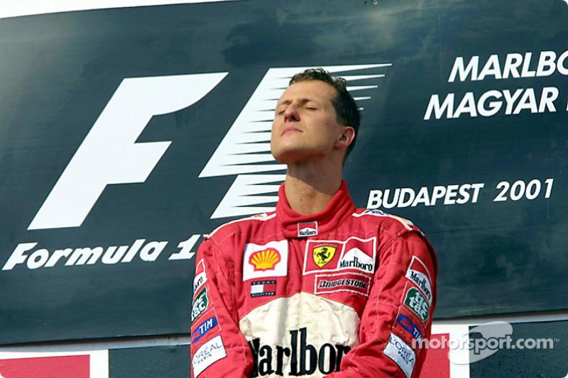 Michael Schumacher, Scuderia Ferrari, campeón del mundo de F1 2001