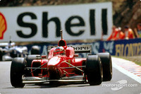Michael Schumacher in the Ferrari F310