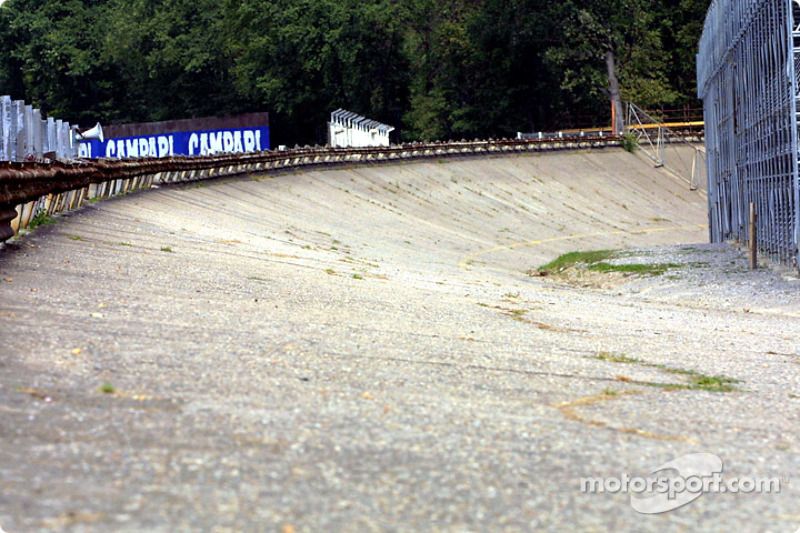 The Monza old oval track