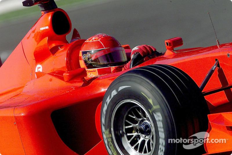 2001 год: Ferrari