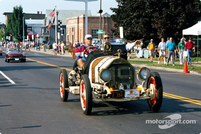 Vintage race in the street