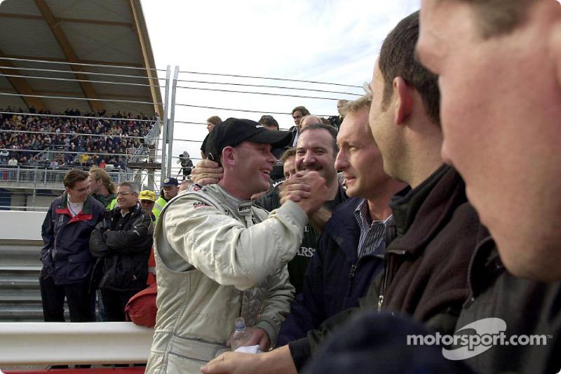 Race winner Uwe Alzen