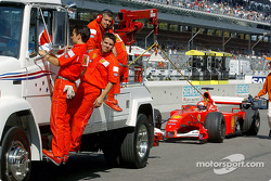 Morning session: Michael Schumacher