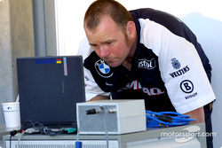 BMW-Williams garage