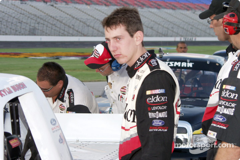 Youngster Kyle Busch