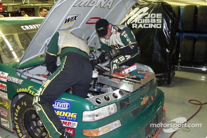 Post race inspection