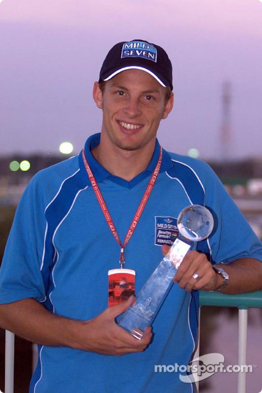Internet award for Jenson Button