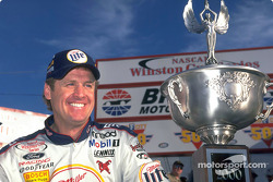 Miller Lite Ford Taurus driver Rusty Wallace is the master at Bristol Motor Speedway; he won both 2000 events there and one in 99