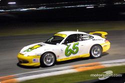 Shelby Wellman et David Haskell à bord de la Porsche 911 n°65, vainqueur de la finale Grand-Am Cup