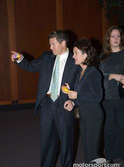 Scott Sharp with wife, Kimberly